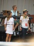 Leonard Cohen-Band (Lucca 2013) Lizenzfreies Stockfoto