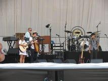 Leonard Cohen-Band (Lucca 2013) Stockbild