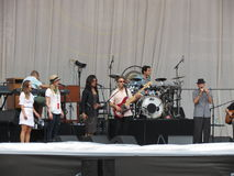 Leonard Cohen band (Lucca 2013) Royalty Free Stock Image