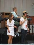 Leonard Cohen band (Lucca 2013) Stock Image