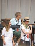 Leonard Cohen band (Lucca 2013) Stock Photos