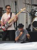 Leonard Cohen bor i Lucca, 9 Juli 2013 Arkivbild