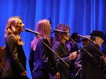 Leonard Cohen - Florença 2010 Foto de Stock Royalty Free