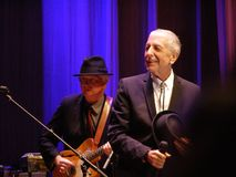 Leonard Cohen - Florença 2010 Imagens de Stock Royalty Free