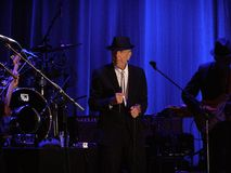Leonard Cohen - Florence 2010 Photos stock