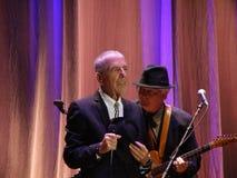 Leonard Cohen - Florence 2010 Fotografering för Bildbyråer