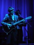 Leonard Cohen - Florencia 2010 Fotos de archivo