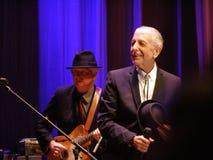 Leonard Cohen - Florencia 2010 Imágenes de archivo libres de regalías