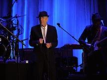 Leonard Cohen - Florenz 2010 Stockbilder
