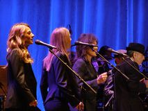Leonard Cohen - Florenz 2010 Lizenzfreies Stockfoto