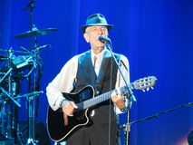 Leonard Cohen live in Lucca, 9 July 2013 Stock Image