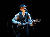 Leonard Cohen (Lucca 2013) Imagens de Stock