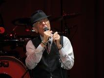Leonard Cohen (Lucca 2013) fotografía de archivo libre de regalías