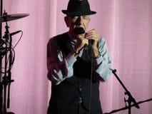 Leonard Cohen (Lucca 2013) Fotos de archivo libres de regalías