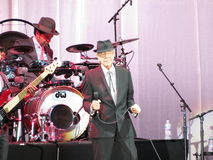 Leonard Cohen (Lucca 2013) Stock Photos