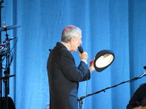Leonard Cohen (Lucca 2013) Royalty Free Stock Photos