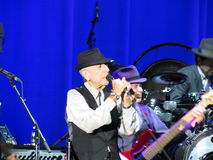 Leonard Cohen (Lucca 2013) Stock Photography