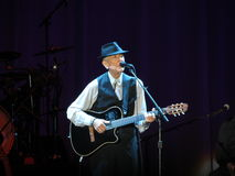 Leonard Cohen (Lucca 2013) Stock Photo