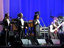 Leonard Cohen (Lucques 2013) Images stock