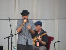 Leonard Cohen om nieuw album in 2014 vrij te geven Stock Fotografie