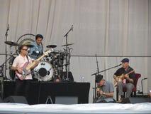 Leonard Cohen vive em Lucca, o 9 de julho de 2013 Foto de Stock Royalty Free