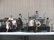 Leonard Cohen vive em Lucca, o 9 de julho de 2013 Imagem de Stock Royalty Free