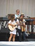 Leonard Cohen zespół (Lucca 2013) Fotografia Royalty Free