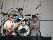 Leonard Cohen, zum des neuen Albums im Jahre 2014 freizugeben Stockfotos
