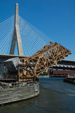 Leonard P. Zakim Bunker Hill Memorial Bridge Stock Images