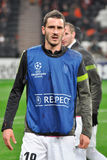 Leonardo Bonucci during warm-up Royalty Free Stock Photography