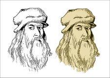 Leonardo Da Vinci Stockbilder