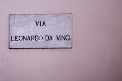 Leonardo Da Vinci 免版税库存照片