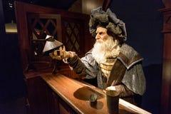 Leonardo Da Vinci photo libre de droits