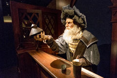 Leonardo da Vinci royalty-vrije stock foto