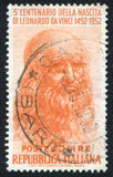 Leonardo Da Vinci royaltyfria foton