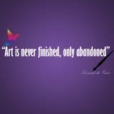 Leonardo Da Vinci Art Arkivfoton