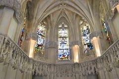 Leonardo da Vinci Chapel, Chateau Amboise, France Royalty Free Stock Images