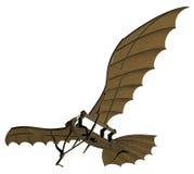 Leonardo da Vinci Flying Machine Vetora ilustração royalty free