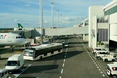 Leonardo da Vinci International Airport Stock Photos