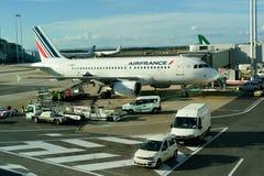 Leonardo da Vinci International Airport Royalty Free Stock Image