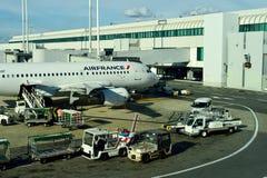Leonardo da Vinci International Airport Royalty Free Stock Photography