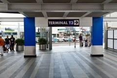 Leonardo da Vinci International Airport Royalty Free Stock Photos