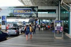 Leonardo da Vinci International Airport Royalty Free Stock Photo