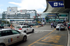 Leonardo da Vinci International Airport Royalty Free Stock Images
