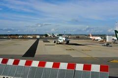 Leonardo da Vinci International Airport Stock Image