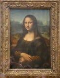 Leonardo Da Vinci Monalisa στοκ εικόνα με δικαίωμα ελεύθερης χρήσης