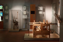 Leonardo Da Vinci Museum Royalty-vrije Stock Fotografie