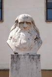 Leonardo da Vinci a Pecs Ungheria Fotografia Stock