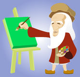 Leonardo Davinci Royalty Free Stock Photography