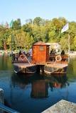 Leonardo del traghetto fotografia stock libera da diritti